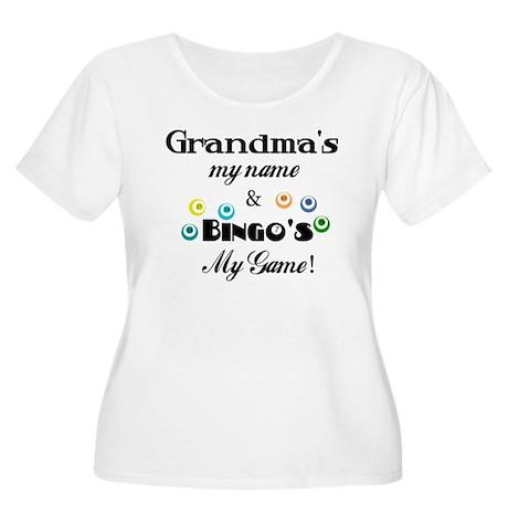 Grandma and Bingo Women's Plus Size Scoop Neck T-S