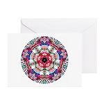 4th of July Mandala Greeting Cards (Pk of 10)