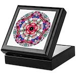 4th of July Mandala Keepsake Box