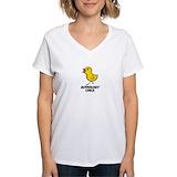 Audiology Womens V-Neck T-shirts