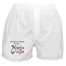 Baritone Ninja Boxer Shorts