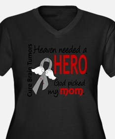 Brain Tumor H Plus Size T-Shirt