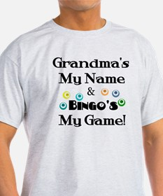 Grandma and Bingo T-Shirt