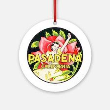 Pasadena California Keepsake (Round)