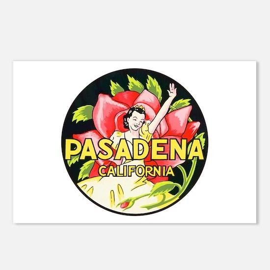 Pasadena California Postcards (Package of 8)