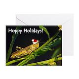 Grasshopper Greeting Cards (10 Pack)