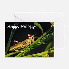 Grasshopper Santa Greeting Cards (Pk of 10)