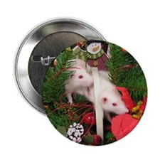 """Christmas Critters 2.25"""" Button"""