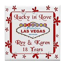 Rey & Karen Tile Coaster