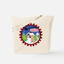 Believe Shar-Pei Tote Bag