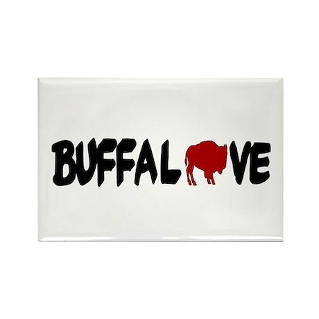 Buffalove Rectangle Magnet