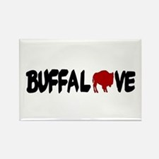 Buffalove Rectangle Magnet