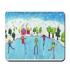 Hikaru's 'Ice Skating Fun!' Mousepad