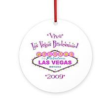 Las Vegas Bridesmaid Ornament (Round)