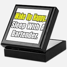 """...Sleep With a Bartender"" Keepsake Box"