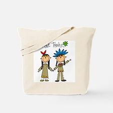 Native American Thanksgiving Tote Bag