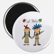 Native American Thanksgiving Magnet