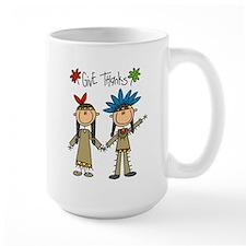 Native American Thanksgiving Mug