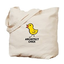 Architect Chick Tote Bag