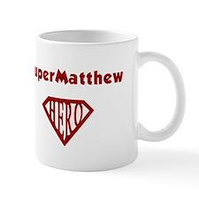 Super Hero Matthew Mug