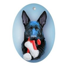 Vader Mischief Oval Ornament