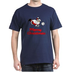 VolleyChick Santa Digs Christmas T-Shirt