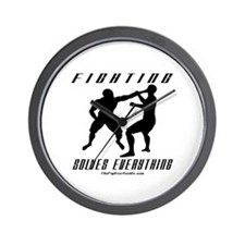 Fighting Solves Everything w/ Wall Clock