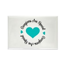 Caregiver Are Special Rectangle Magnet