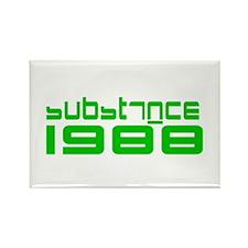 substance 1988 Rectangle Magnet