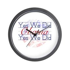 Yes We Did! Wall Clock