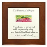 Fishermans prayer Framed Tiles