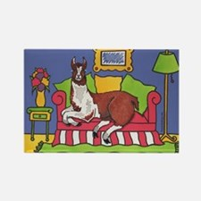 Llamas Rectangle Magnet (100 pack)