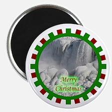 Niagara Falls Christmas Magnet