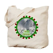 Niagara Falls Christmas Tote Bag