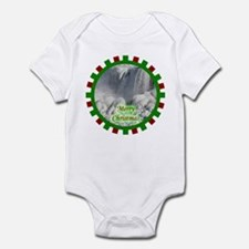 Niagara Falls Christmas Infant Bodysuit