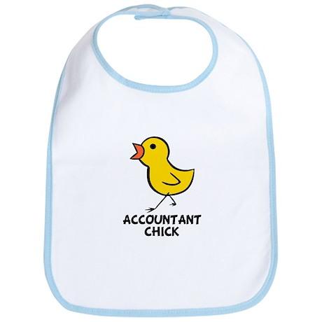 Accountant Chick Bib