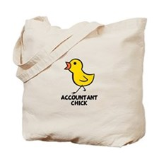 Accountant Chick Tote Bag