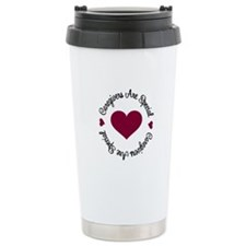Caregiver Are Special Travel Mug