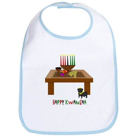 Happy Kwanzaa! Bib