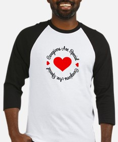Caregiver Are Special Baseball Jersey