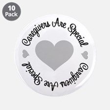 """Caregiver Are Special 3.5"""" Button (10 pack)"""