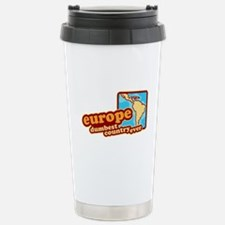 'Europe Dumbest Country' Travel Mug