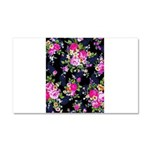 Rose Bouquets on a Black Background Car Magnet 20
