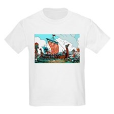 Viking Raid Kids T-Shirt