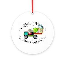 'A Rolling Hedgie...'  Keepsake (Round)
