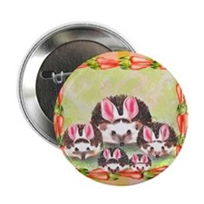 'The Hedgie Bunnies' Button