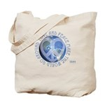 LovePeaceEarth Tote Bag