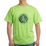 LovePeaceEarth Green T-Shirt