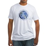 LovePeaceEarth Fitted T-Shirt