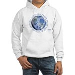 LovePeaceEarth Hooded Sweatshirt